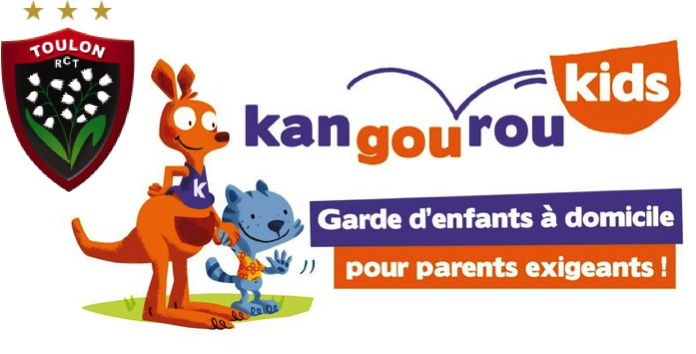 Kangourou Kids Toulon, partenaire du RCT